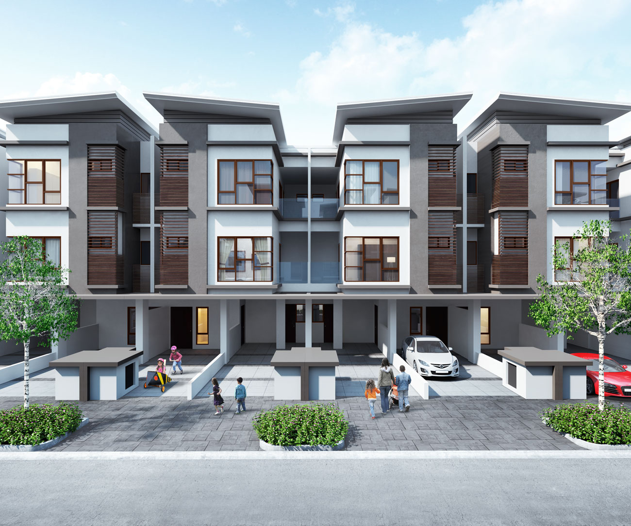 Towns Homes For Rent: IOI Properties Group Berhad