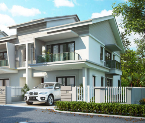 Evira 2 Storey Terrace House