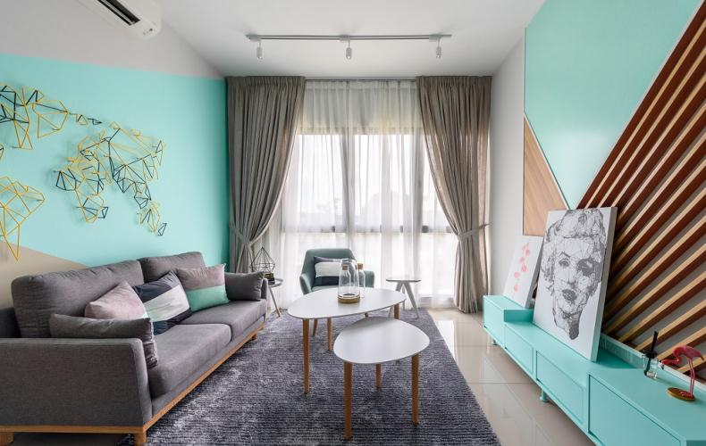 The Clio 2 Residences-type D-Living Hall