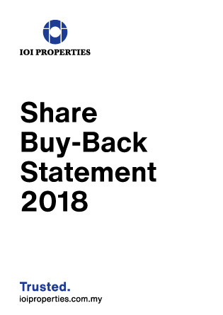 Share Buy-Back Statement 2018