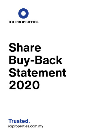Share Buy-Back Statement 2020