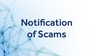 Notification of Scam
